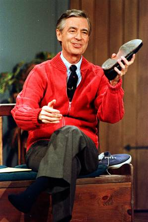 Mr. Rogers: Master of the Shoe Change