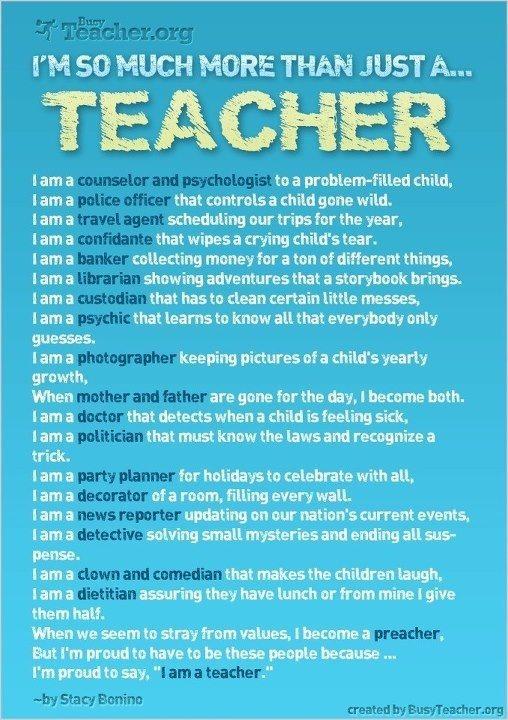 I want to be teacher essay